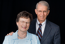 Rossie Henley Lindsey '63 and Cleaton Lindsey